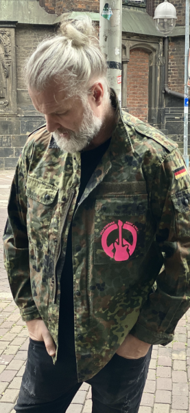 Army Jacket - Peace and Rock n Roll