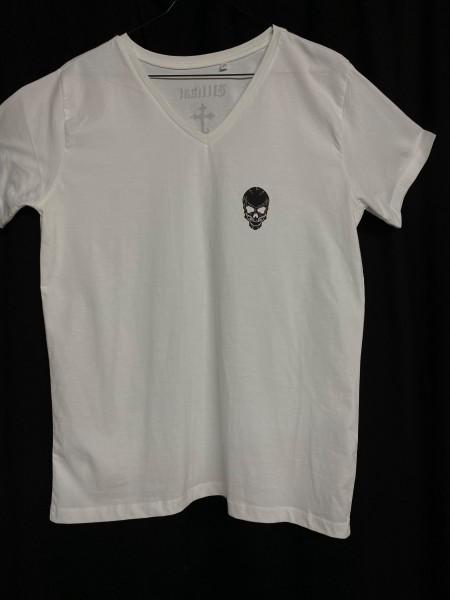 Ullikat - T-Shirt - Herren weiß/schwarz