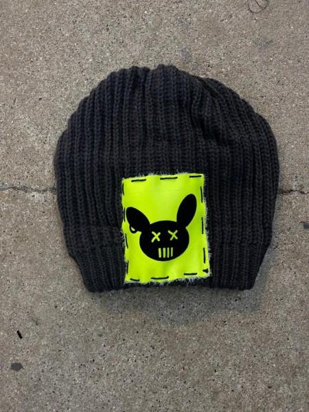 Ullikat - Beanie Schwarz Neon Dead Rabbit