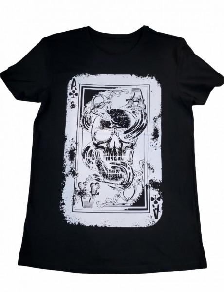 T Shirt - Skull/As