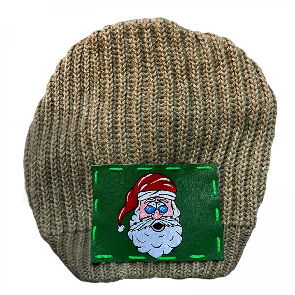 Ullikat - Beanie Beige Christmas