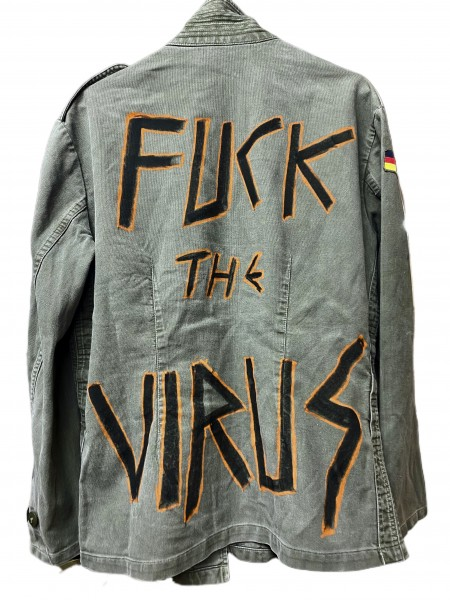 Army Jacket - Fuck the Virus