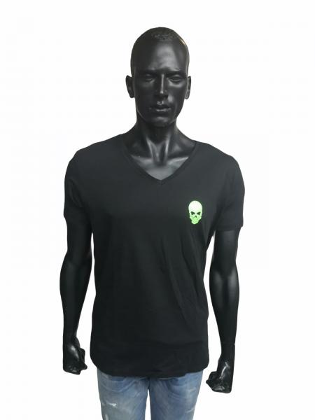 Ullikat - T-Shirt - Herren schwarz/grün