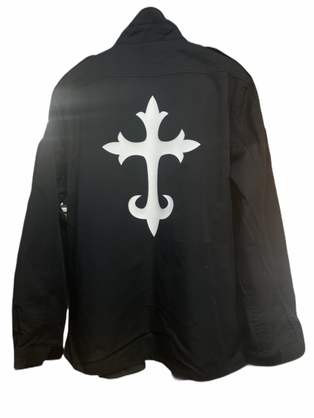 Army Jacket - Cross White