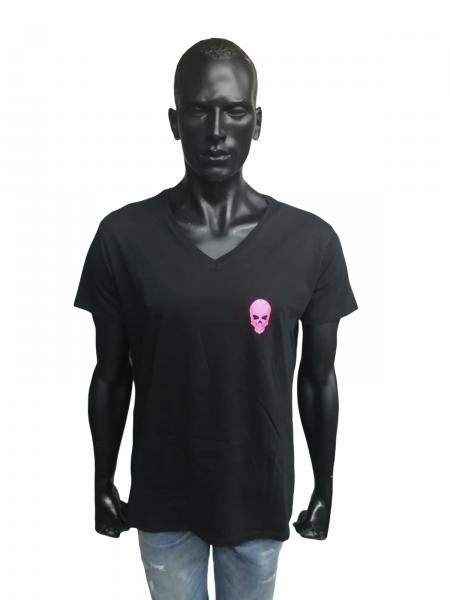 Ullikat - T-Shirt - Herren schwarz/pink