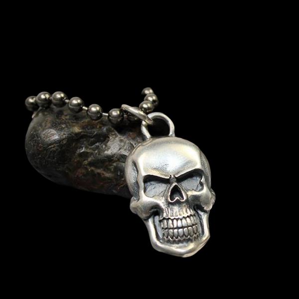 Sterling Silber Skull Anhänger