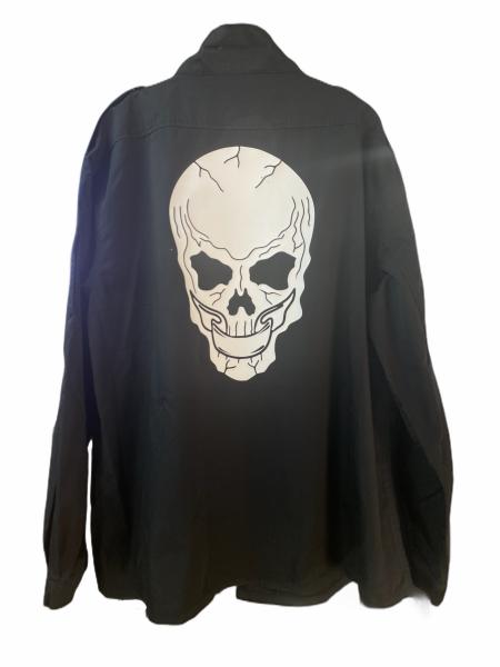 Army Jacket - Skull White