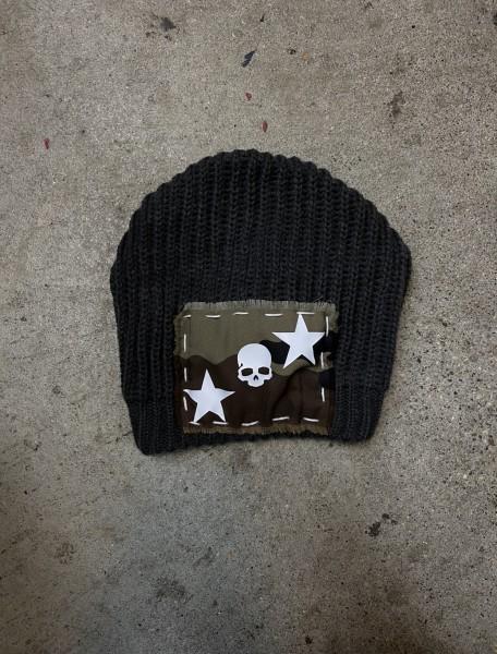 Ullikat -Army Beanie Skull/Stars Camo