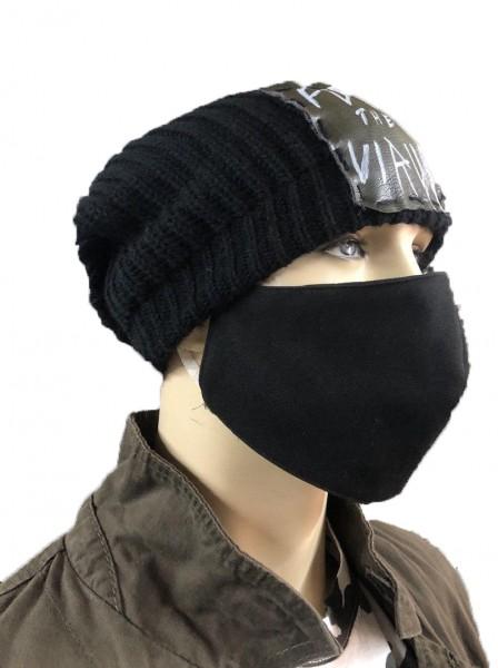 Ullikat - Gesichtsmaske Schwarz