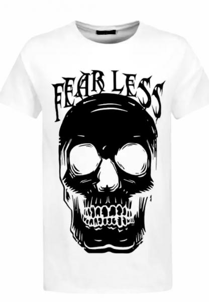 T Shirt - Skull Fearless