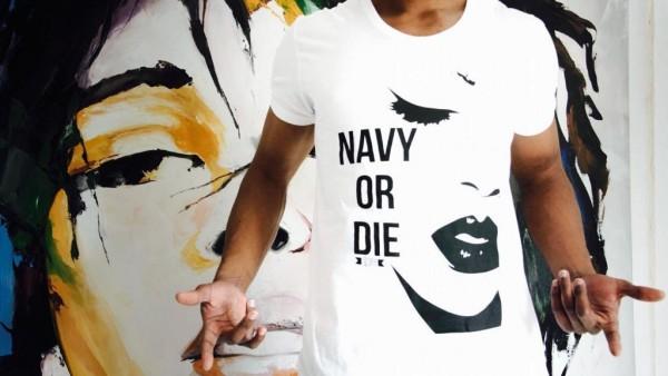 T Shirt - Navy or Die