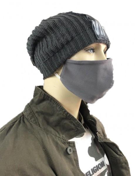 Ullikat - Gesichtsmaske Grau