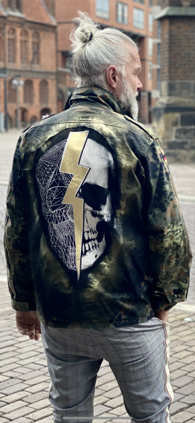 Army Jacket - Skull Flash